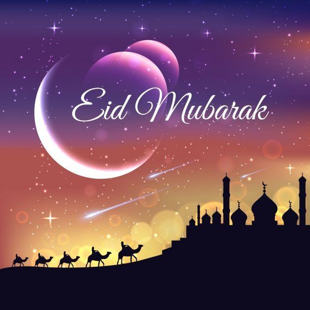 Download Gratis Mooie Eid Mubarak Achtergrond In 2020 Eid Mubarak Eid Mubarak Background Eid