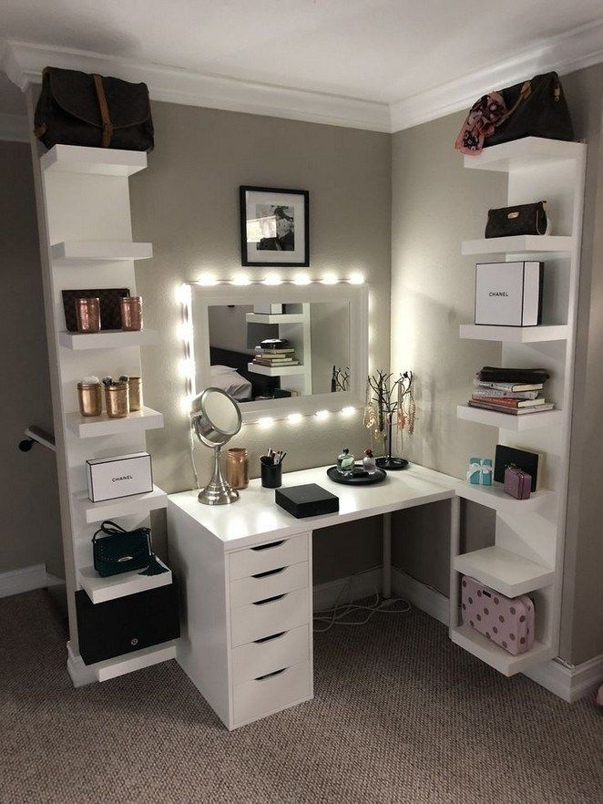 46 Most Beautiful Makeup Vanity Table Designs You Will Love Room Ideas Bedroom Stylish Bedroom Room Decor