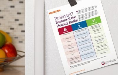 The holidays mean plenty of great food, but if you're pregnant, you need to be extra careful of foodborne illnesses. Use this checklist for a safer pregnancy this holiday season. #nutritionforpregnantwomen