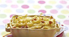Gratin de macaronisVoir la recette du gratin de macaronis