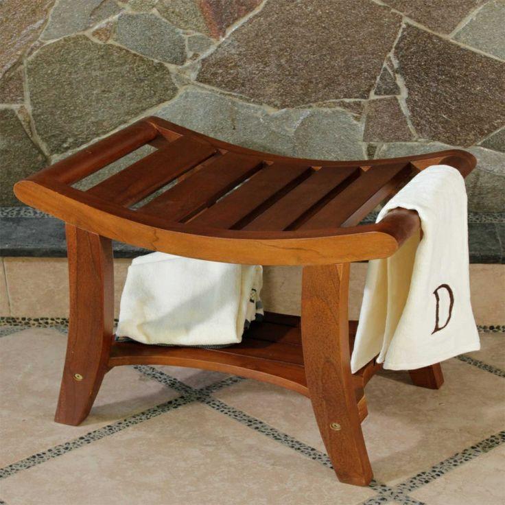 Teak Bathroom Stools 19 best teak shower stools images on pinterest | shower stools
