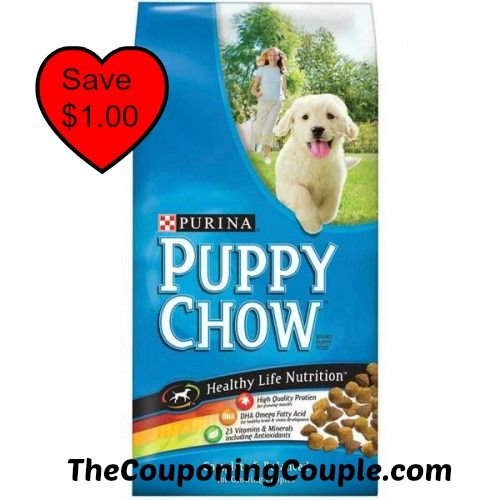 Get a nice deal at CVS this week with a new $1.00/1 Purina Puppy Chow coupon! Only pay $4.99!   Click the link below to get all of the details ► http://www.thecouponingcouple.com/save-1-00-on-purina-puppy-chow/  #Coupons #Couponing #CouponCommunity  Visit us at http://www.thecouponingcouple.com for more great posts!
