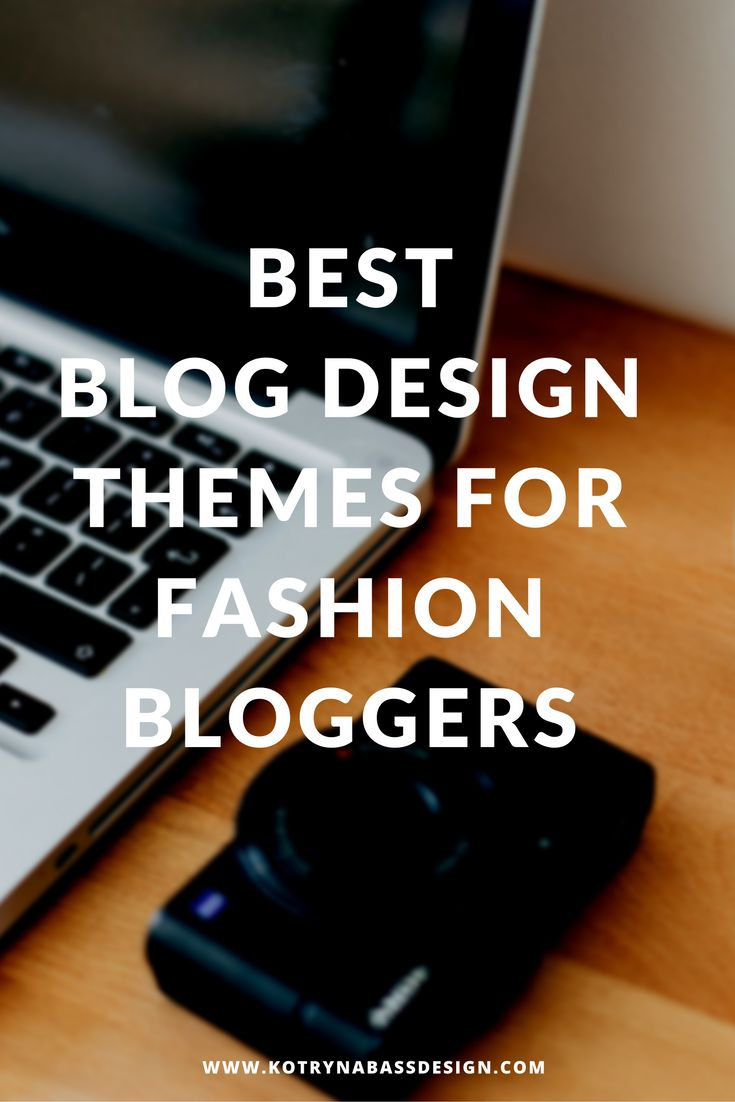 Fashion blogger, even more than any other type, should care about their blog…