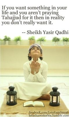 Do tahajjud