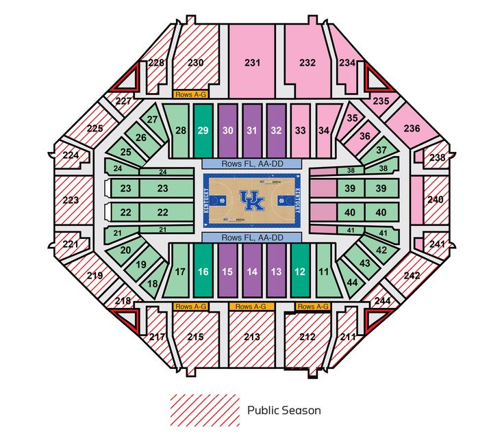 Tickets: Men's Basketball Season Tickets - UK Wildcats