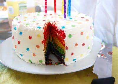Bri would love a rainbow birthday!