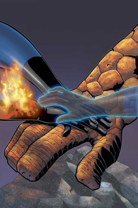 Fantastic Four by Mike Wieringo #SueStorm #Thing #HumanTorch