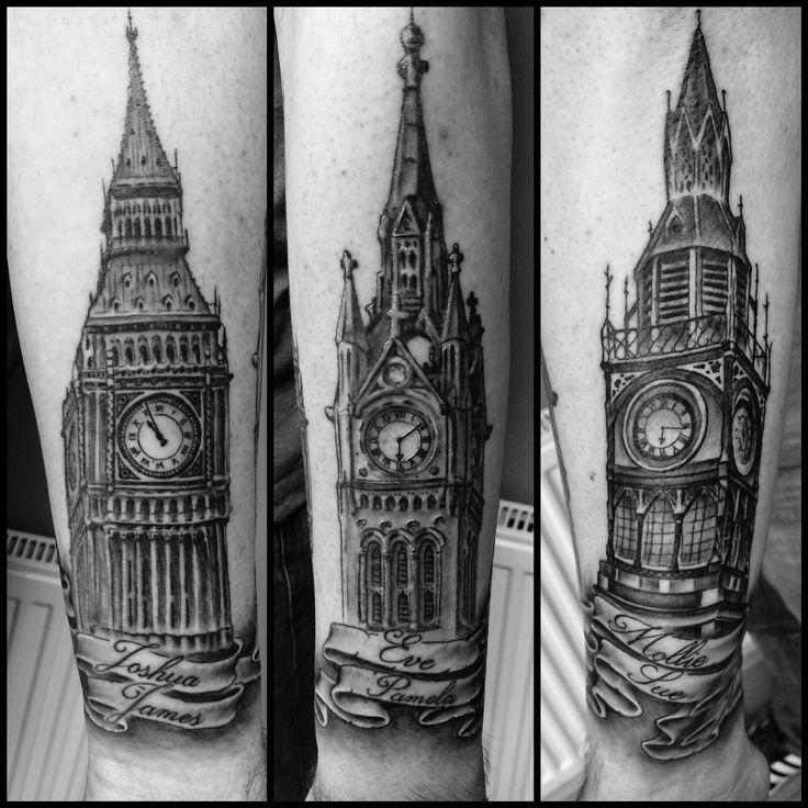 Clocktower big ben tattoo | Tattoos | Pinterest | Big ben ...
