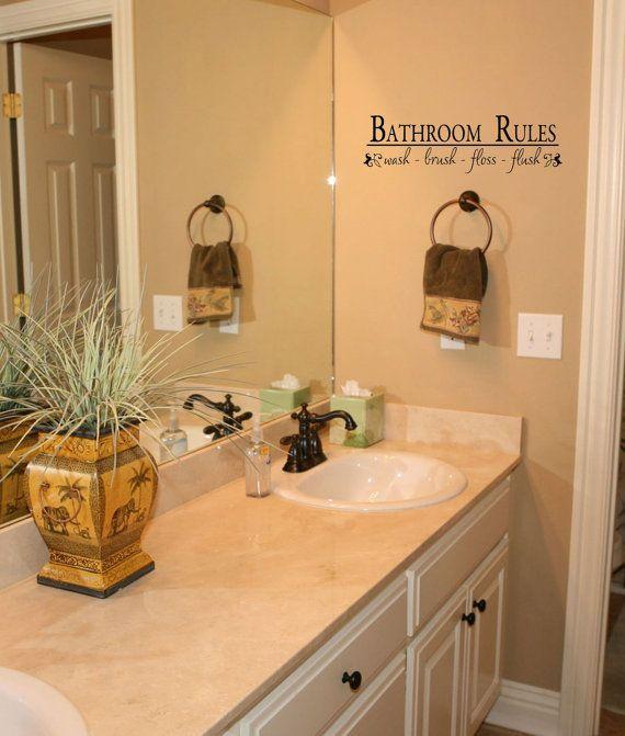 Small Bathroom Design Rules 26 best bathroom decor images on pinterest | bathroom ideas