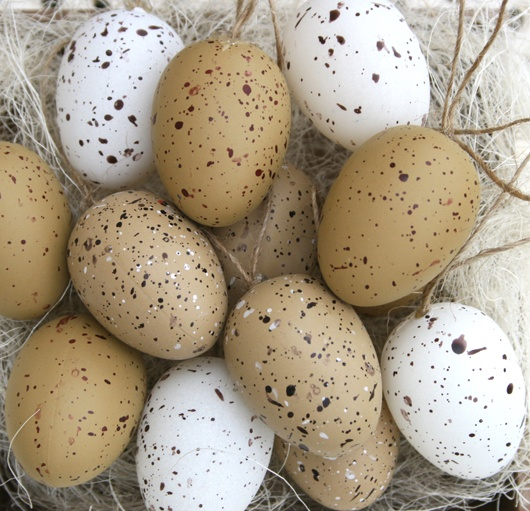 Rustic Easter Egg Decorations