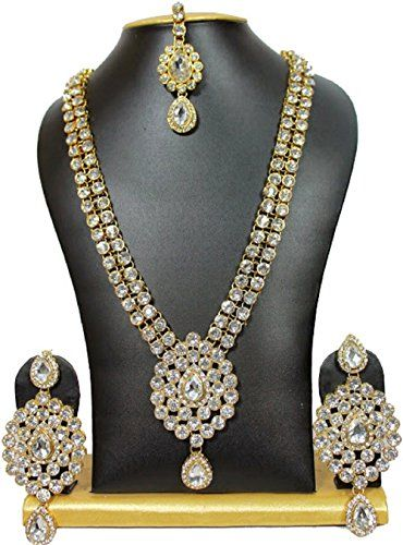 Elegant Indian Look Bollywood Bridal Kundan Wedding party... https://www.amazon.ca/dp/B01N2TS40E/ref=cm_sw_r_pi_dp_x_RxqYybEPFE4VS