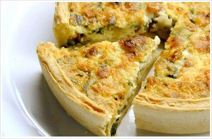 Easy Quiche Lorraine Recipe | Just Easy Recipes