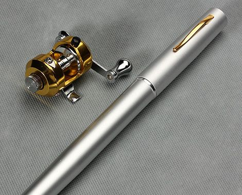 For the fishing enthusiast in all of us!  Grab a Portable Pen Size Fishing Rod with Reel for $19 from Firstin Ltd.  Great Father's Day gift!  Carry in your glovebox for those spontaneous adventures!