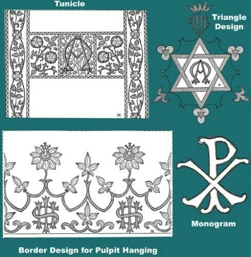 28 Best Catholic Hand Embroidery Designs Images On Pinterest