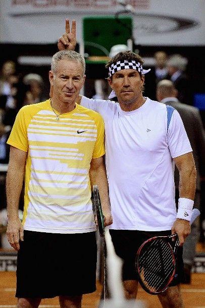 John McEnroe and Pat Cash :-)