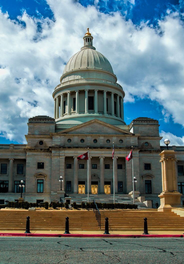 Arkansas State Capitol. Little Rock, Arkansas.