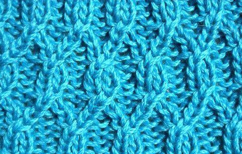 Aran lozenge pattern