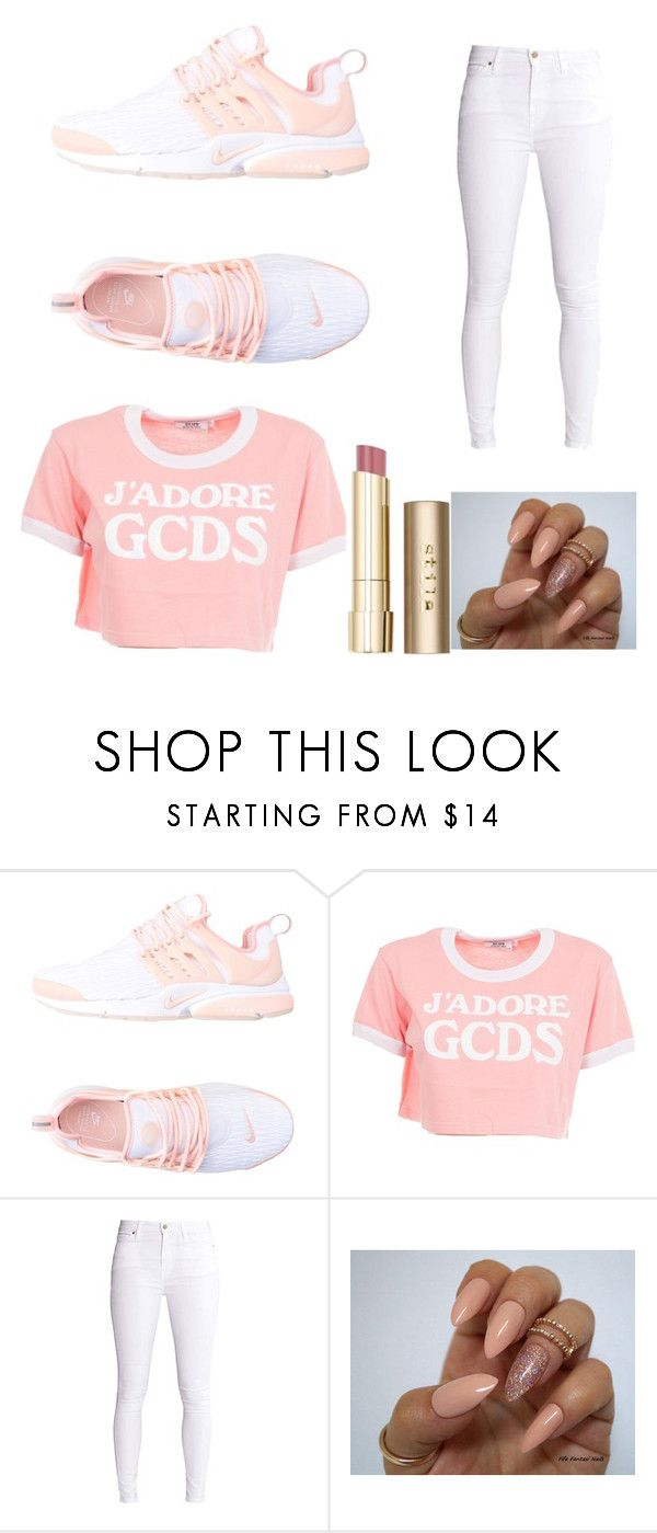 """Untitled #731"" by alanawedge59 on Polyvore featuring NIKE, GCDS and Stila"