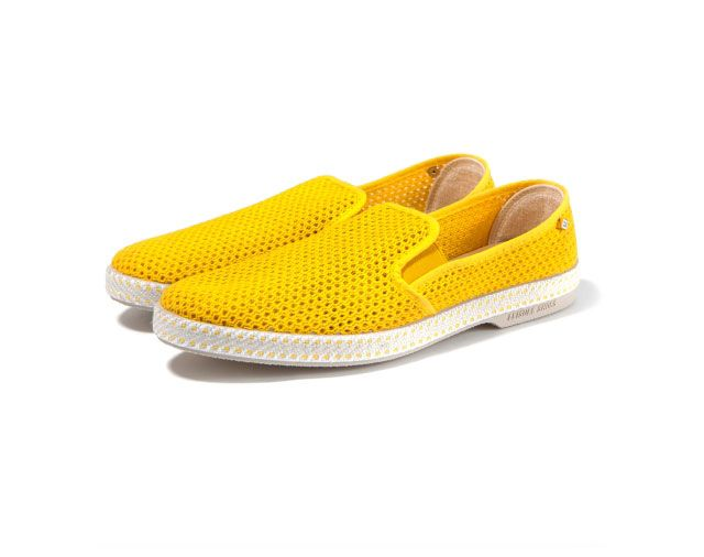 Jaune 30° Slip-Ons by Rivieras - D'