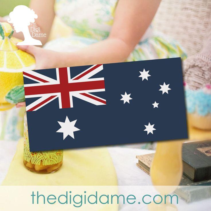 Australia Day Party Banner Free Printable
