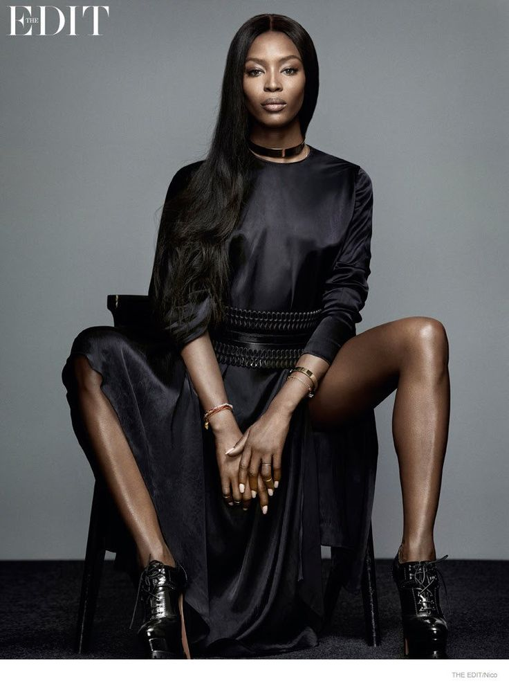 "Naomi Campbell Wows for The Edit, Says She Still Gets ""Scared"" About Catwalk"