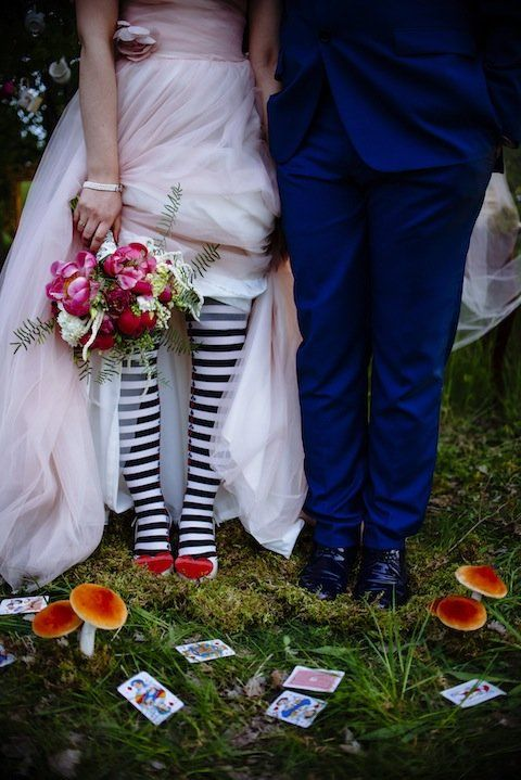This Alice in Wonderland-Inspired Wedding Is What Dreams Are Made Of   InStyle.com