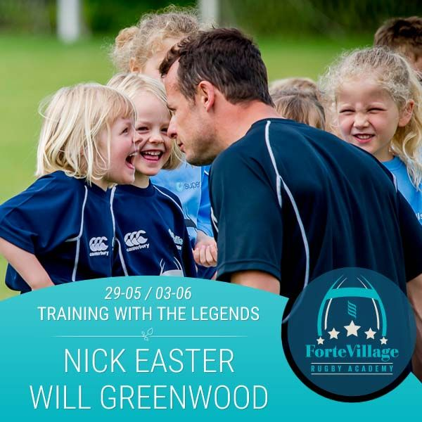 Let your children be trained by the best champions of the Forte Village Rugby Academy! See the complete calendar here and book now! http://bit.ly/1NvHoEl