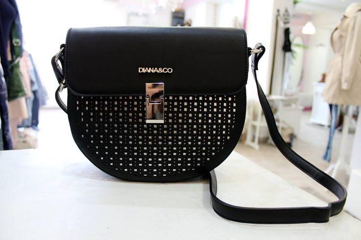 Diana Co. black bag