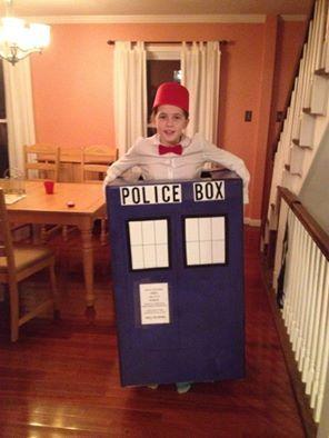 Doctor Who in the Tardis.  #drwho #Tardis #doctorwhocostume #drwhocostume #Halloweencostume