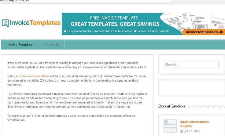 Resource for free sample invoice templates, download, customize - easy invoice maker