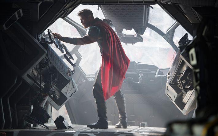 Download wallpapers Thor, Ragnarok, 2017, Thor 3, Chris Hemsworth