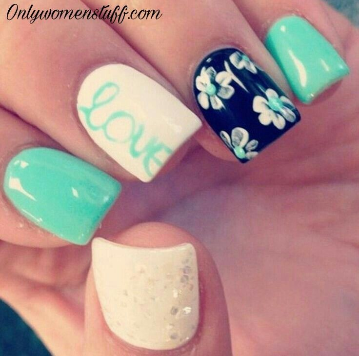 33+ Cute Long Nail Art Designs with Pictures | Long nail ...