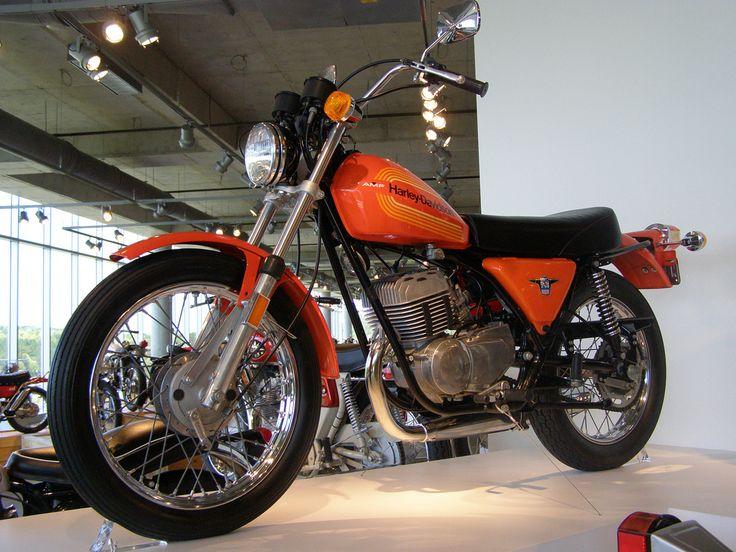 1976 Harley Davidson 250 S.S.