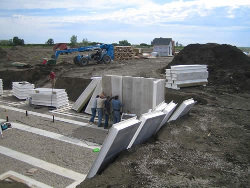Titan wall structural insulated panels home building for Insulated concrete foam