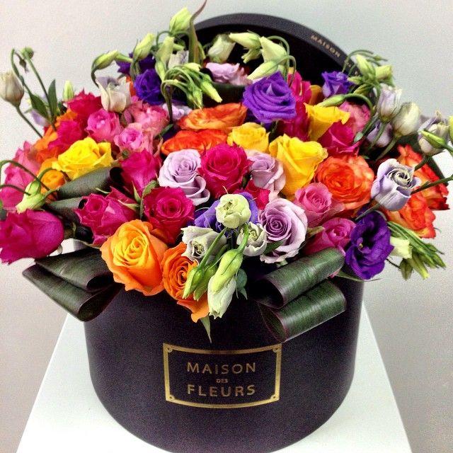 Gorgeous flower arrangement maison des fleurs uae flowers pinterest flo - Photos bouquets de fleurs ...