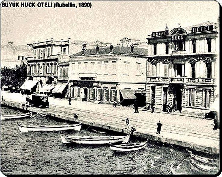 Natali AVAZYAN (NataliAVAZYAN) | Twitter 890 Rubellin Büyük Huck Oteli, İzmir Rıhtım.1880 yılında inşaa edildi,Ancak 1922 İzmir yangınında tarihe karıştı.