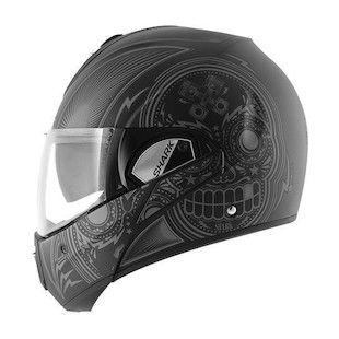 Matte Black/Grey - Shark Evoline 3 ST Mezcal Helmet