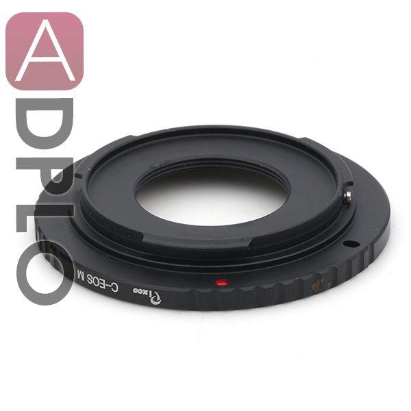 Объектив переходное кольцо костюм для 16 мм C гору фильм объектив Canon EOS M EOS M2 EF-M EOS-M адаптер беззеркальных камер
