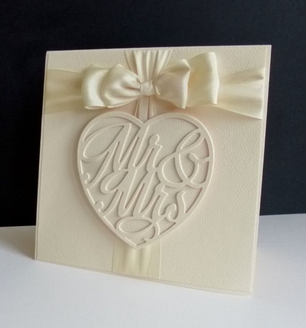 FS516 ~ Wedding Bow by sistersandie - Cards and Paper Crafts at Splitcoaststampers