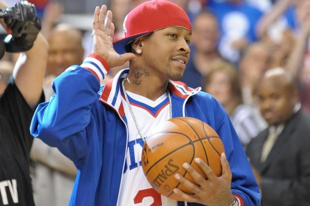 allen iverson's jersey retirement | ... Retire Allen Iverson with Jersey Retirement Ceremony | Bleacher Report