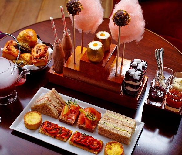 Charlie and the Chocolate Factory inspired afternoon tea at One Aldwych, Covent Garden, London