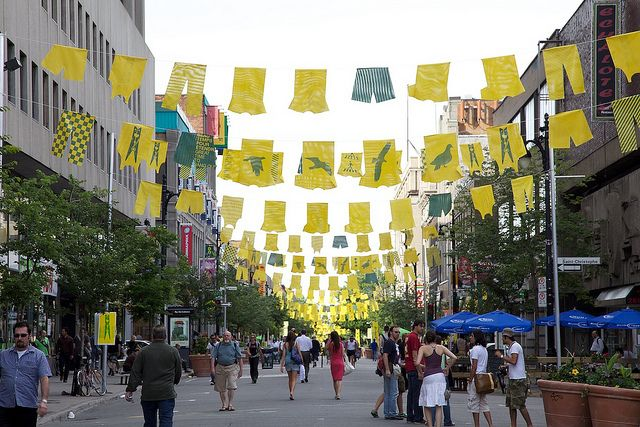 Great additions to the walking street in Le Village, Montreal