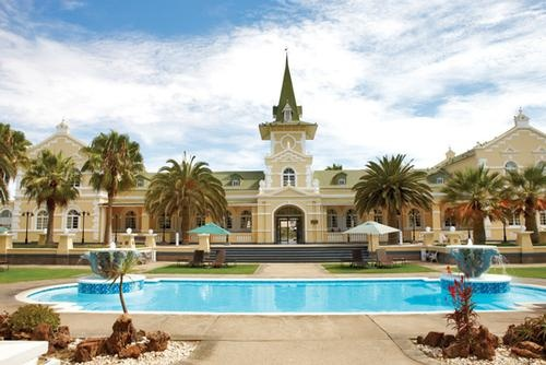 Namibia, Swakopmund Hotel - http://www.abercrombiekent.com.au/africa/across-a-continent-by-private-jet.cfm