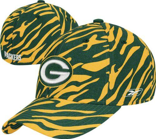 Reebok Green Bay Packers Green Zebra Flex Hat  https://allstarsportsfan.com/product/reebok-green-bay-packers-green-zebra-flex-hat/  Flex for comfortable wear Soft, cool 97% cotton/3% spandex blend for just the right amount of stretch Officially licensed by the NFL