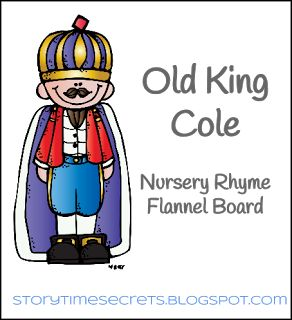 Story Time Secrets: Flannel Friday: Old King Cole