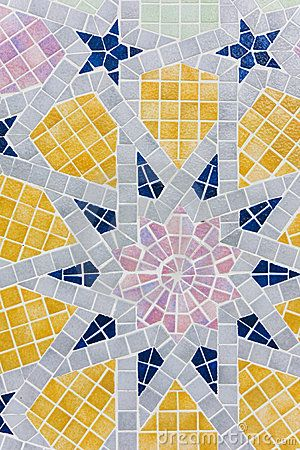 Islamic Geometric Design by Shariff Che\ Lah, via Dreamstime
