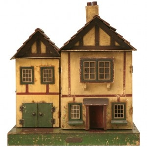 decorated dollhouses