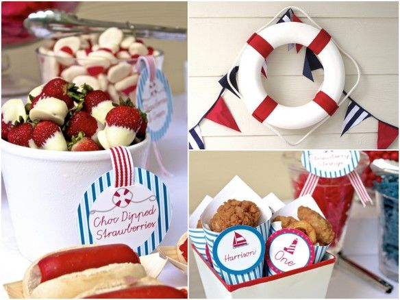 Nautical Theme Party    ~ #Party, #Nautical