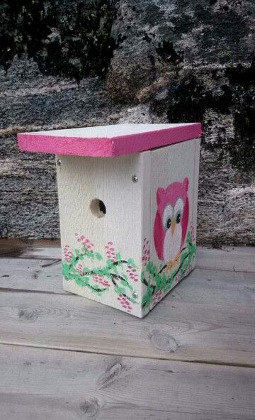 """""""Owl house"""", painted by MB"""