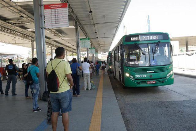 Linhas de ônibus urbanos param fora da Rodoviária http://ift.tt/2vJQSXh